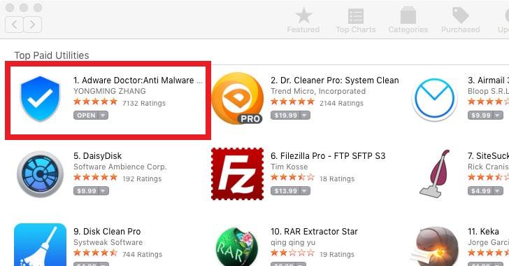 Aplicaciones de iPhone que mandan información a servidores con malware
