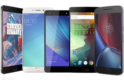 19 Smartphones realmente buenos por debajo de  los 500€