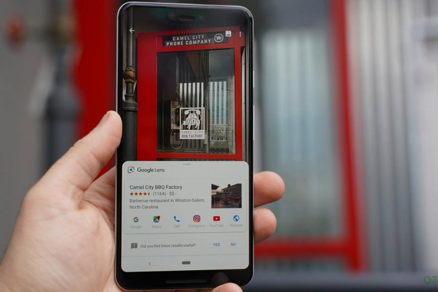 Reconocimiento visual de google lens se incorpora a iOs