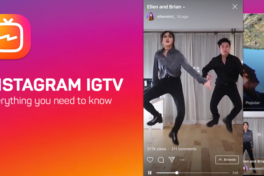 Instagram incluye videos de igtv en su pestaña de navegacion