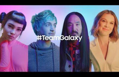 Samsung ficha a millie bobby brown para su campaña galaxy s10