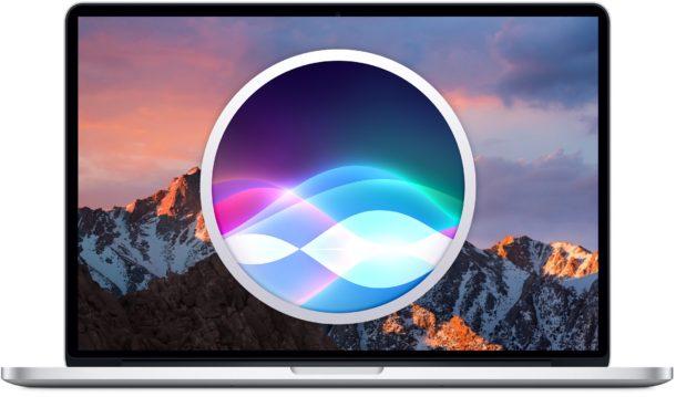 Como usar de manera optima, Siri en Mac