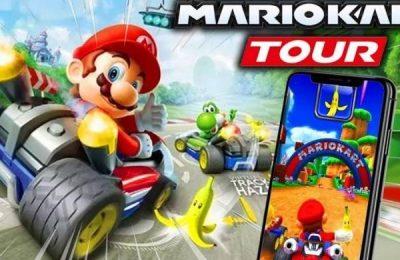 Mario Kart tour logra 90 millones de descargas la primera semana